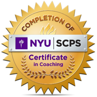 NYU Coaching badge